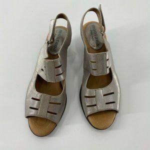 Montana Artisian Silver Metallic Sandals